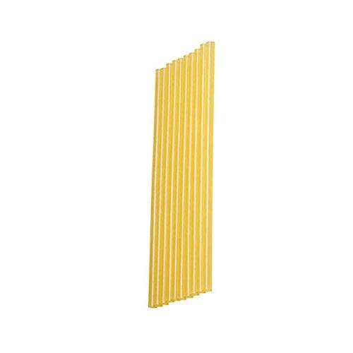 10pcs de Colle Chaude Faire Fondre Sticks Couleur Jaune électrique Colle Utilisation pour PDR Voiture Paintless Outils de réparation Dent Regard