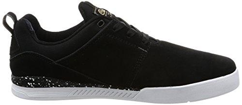 C1rca Neen Cuir Chaussure de Basket Black-White-Gum