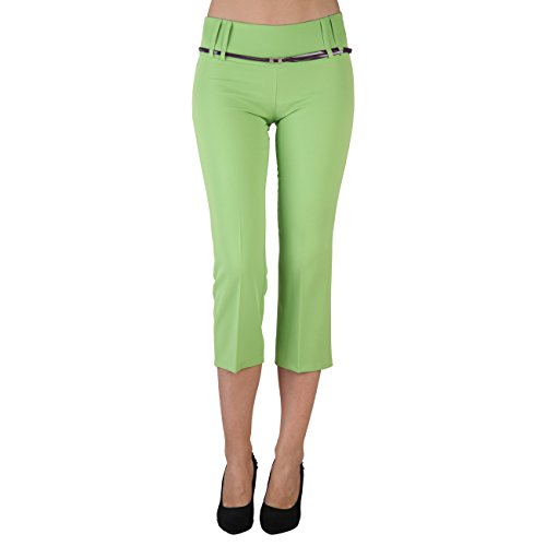 Extyn -  Pantaloni  - Pantalone capri - Donna Verde verde