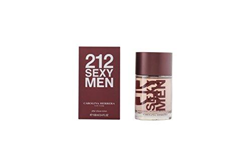 Gardenia-lotion (Carolina Herrera 212 Sexy Men Aftershave, 100 ml)