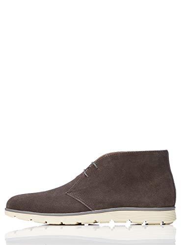 find. Leather Bottes Chukka, Gris Grey), 41 EU