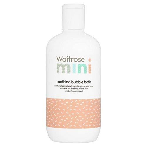6x Waitrose Mini-Bain Moussant Apaisant Bébé 400Ml