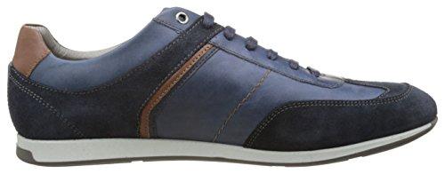 Geox U Clemet B, Sneakers Basses Homme Bleu (Dk Royal/Navyc4Rf4)
