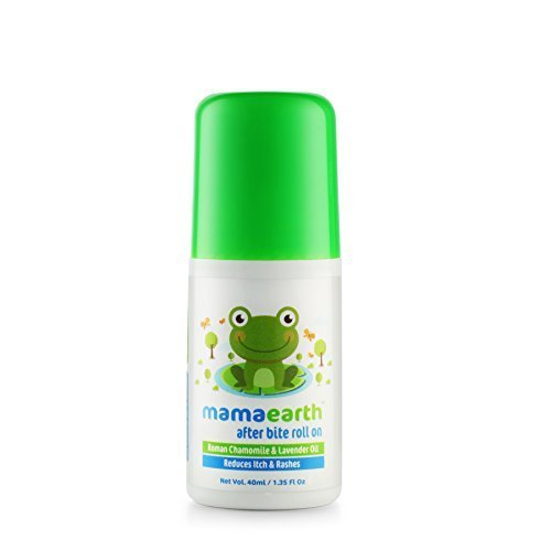 Mamaearth After Bite Roll On for Rashes & Mosquito Bites with Lavander & Witchhazel, 40ml