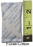 Silikagel-Gel-Packung, Baumwolle, 5 g