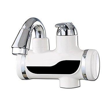 Shuyou® Digital Chauffe-eau électrique robinet de cuisine froide chaude à double usage protection de fuite