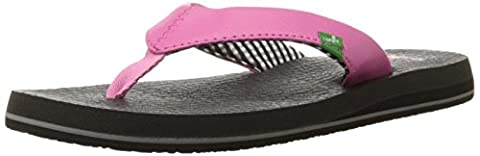 Sanuk Women's Yoga Mat Pink Flip Flops SWS2908 4 UK, 6 US