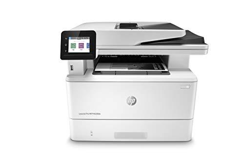 HP LaserJet Pro M428fdn Multifunktions-Laserdrucker (Drucker, Scanner, Kopierer, Fax, LAN, Duplex, Airprint) weiß -