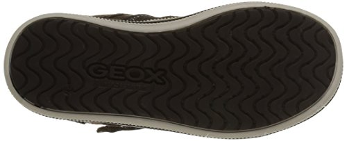 Geox Elvis D, Sneakers Hautes fille Marron (C6233)