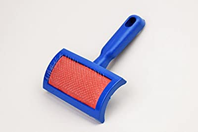 Naturasan Brush for all kinds of sheepskin or lambskin rugs, Deshedding Tool & Pet Grooming Brush for cats and dogs!