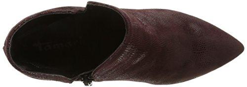 Tamaris - 25011, Stivaletti da donna Rosso (Rot (rot (BORDEAUX549)))