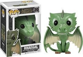 Funko-fu3877-Figura Cine-Game of Thrones-Rhaegal dragón Exclu
