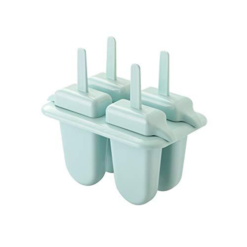 QXM 4 Paket eisform DIY EIS EIS EIS am stiel Form Langen Griff Elefanten eisform,Blue (Eis-pakete)
