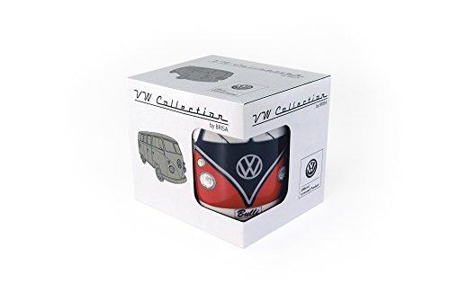 VW Collection by BRISA Tasse VW T1 - Rouge/Noir