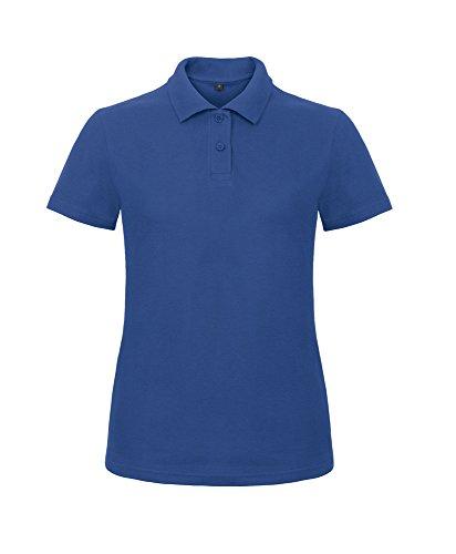 B&C Collection - Polo - Femme Bleu