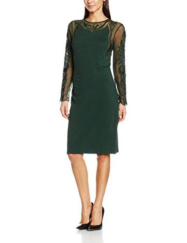 Havren Paige Lace Sleeve Dress, Robe Femme, (lot de 4 ) Green (forest Green)