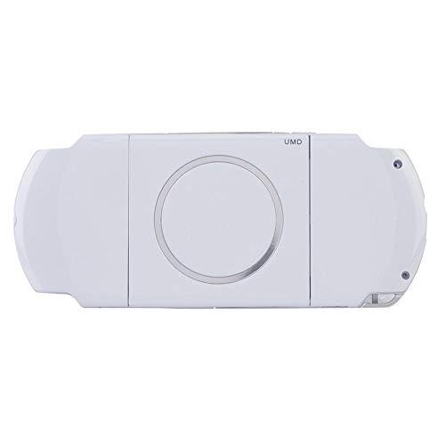 Tonysa Spiel Shell Case Ersatzteile,Spiele Volle Gehäuse,Abdeckung Shell Protector für PSP 3000,Kompatibel mit starkem Schutzeffekt/hochwertigem PC Material/modischem Erscheinungsbild(Weiß) (Psp Abdeckungen Und Gehäuse)