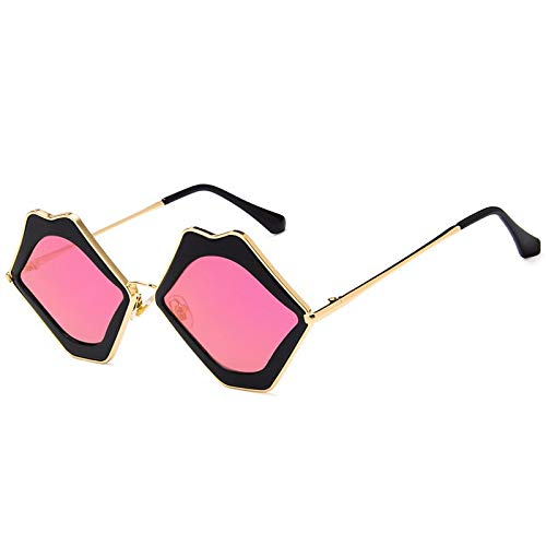 YUHANGH Sexy Lips Original Design Sonnenbrillen Für Frauen Persönlichkeit Lady Fashion Charming Sonnenbrille Party Street Prop