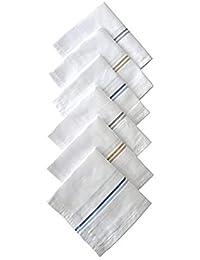 Prime deal 100% Cotton Handkerchiefs For Men - Striped XXL King Size