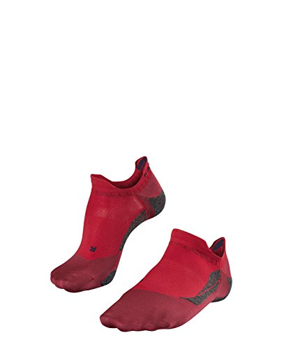 falke golfsocken FALKE Herren GO 5 Invisible Men Golfsocken, Ruby, 39-41