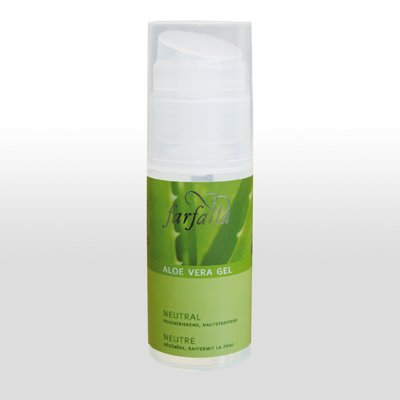 Farfalla Aloe Vera Gel Neutral 50ml, die Linie mit dem Anti-Aging-Effekt,sehr feuchtigkeitsspendend, Intensivpflege für die Haut