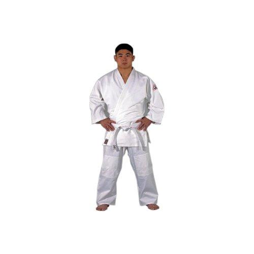 DanRho Judoanzug Dojo-Line Tong Il, Größe:160 cm;Farbe:Weiß