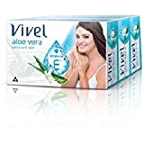 Vivel Aloe Vera Soap, 100g (Pack Of 3)