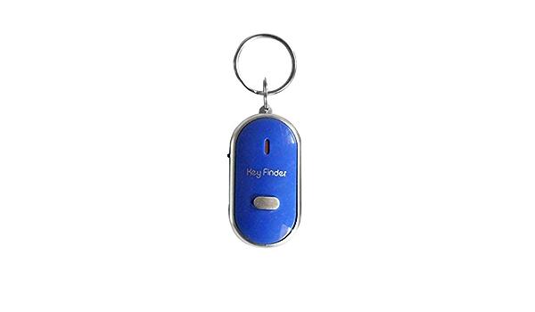 Sunnyflowk Led Pfeife Schlüsselfinder Mit Blinkendem Signalton Alarmfunktion Anti Verlust Schlüsselfinder Mit Schlüsselring Auto