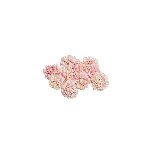 Eternity Bliss Künstliche Blumen 10pcs / Lot Silk Hydrangeablume Kopf für Hochzeitsfest zu Hause Dekoration, Rosa - Kopf-tisch-mittelstücke