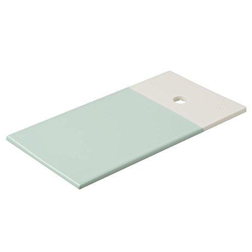 Revol RV648900 Petite Planche Color Lab, Porcelaine, Vert Céladon, 14 x 9 x 0,8 cm