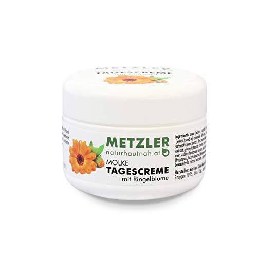 METZLER Molke Tagescreme - besonders nährstoffreiche Gesichtscreme mit Jojoba, Vitamin E und...