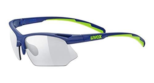 Uvex Erwachsene Sportstyle 802 v Sportsonnenbrille, blau, one Size