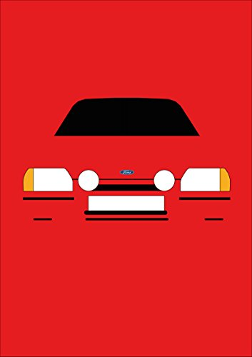 Ford Escort MK4XR3i–Tarjeta de felicitación Retro Motor Company