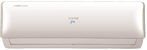 Voltas 1 Ton 3 Star Inverter Split AC (Copper, 123V DZU, White)
