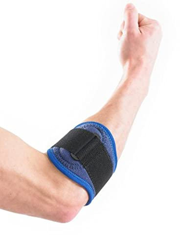 NEO G Tennis/Golf Elbow Strap - Medical Grade Quality HELPS with epicondylitis, Tennis/Golfers elbow, sprains & repetitive strain injuries, relieves tendonitis and forearm Pain – ONE SIZE Unisex Brace