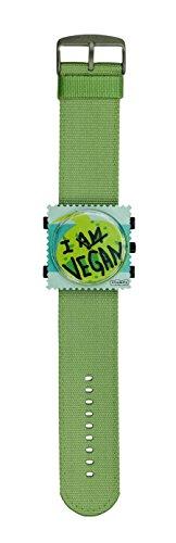 stamps-stamps-orologio-completo-quadrante-i-am-vegan-con-testo-ilarm-band-sporty-green