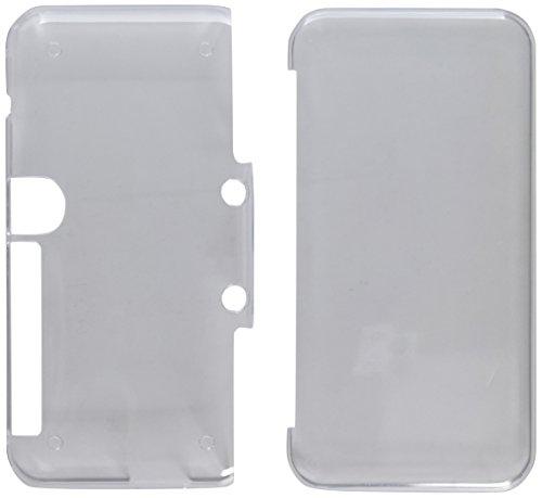 Skin Protector 3ds Nintendo Xl (Hard Case für NEU Nintendo 2DS XL mit 2 Packs Displayschutzfolie, AFUNTA Anti-Scratch Crystal Clear Case, mit 4 Stück gehärtetem Glas Schutzfolien für Top und Bottom Screen)