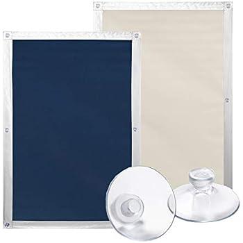 Amazon.de: Clothink 96x120cm Thermo Sonnenschutz für
