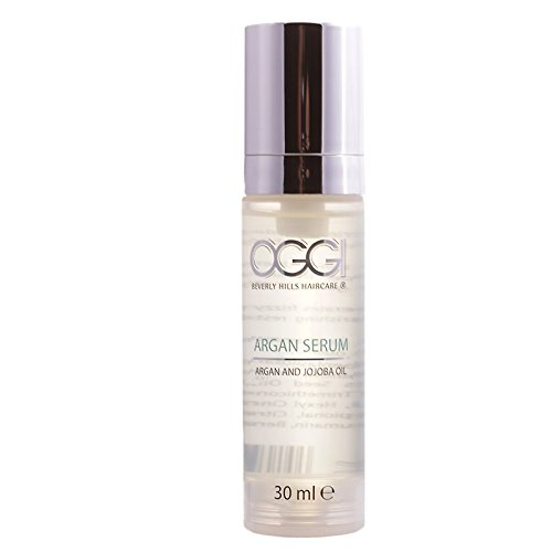 Oggi Argan Serum 30 ml Haaröl für einen seidigen Glanz mit Anti Frizz und Anti-Aging-Wirkung