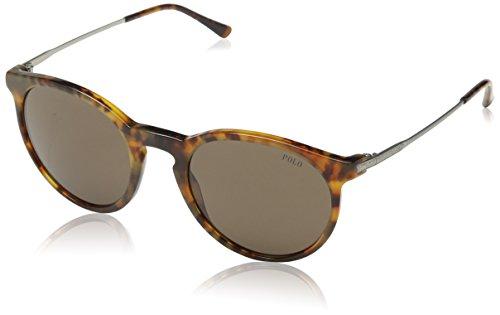Polo Ralph Lauren Unisex PH4096 Sonnenbrille, Braun (Havana 501773), One size (Herstellergröße: 50)