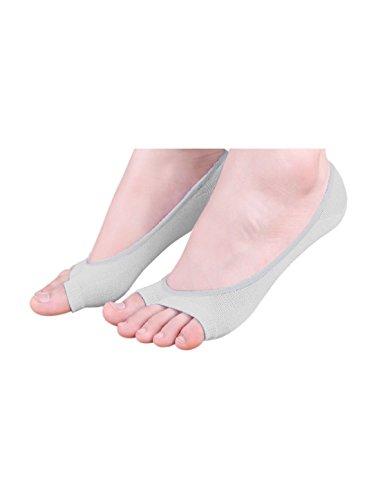 sourcingmap® 6 Paar Damen niedrig Schneiden keine Zeigung Zehelos Boot Socken Gr. 10-12 (Hohe-ferse-knie-boot)