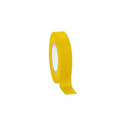 Gewebeklebeband (L x B) 10m x 15mm gelb Stoff aus Wolle von Zellstoff mit Beschichtung in starke Abdeckung 800coroplas (Stoff Wolle-beschichtung)