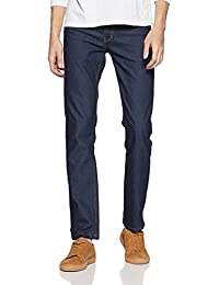 Indigo Nation Men's Slim Fit Casual Trousers
