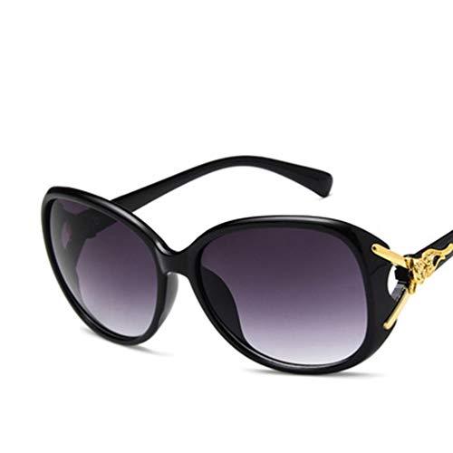 YWYU 2019 Fox Head Sonnenbrillen Explosion Modelle Retro Sonnenbrillen Europa und Amerika Wilde Sonnenbrillen (Farbe : B)