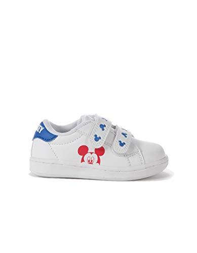 Zippy Zapatillas Mickey para bebé niño, casa para Bebés, Blanco (Wh