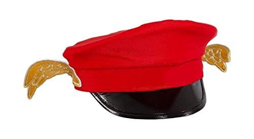 Aloisius Hut, rot - Engel Kostüm Bilder