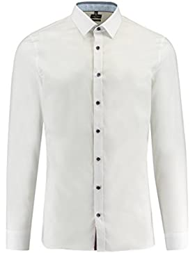 Olymp No.6 Herren Hemd No. Six Super Slim Fit