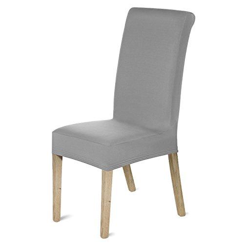 Romote - 4 Fundas elásticas para sillas de Licra extraíbles para Comedor,...