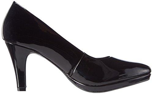 Bruno Banani Pumps, Chaussures à talons - Avant du pieds couvert femme Noir - Schwarz (Black 009)