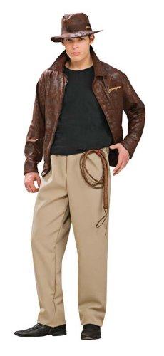 Kost-me f-r alle Gelegenheiten Ru888674 Indiana Jones Dlx Adult ()